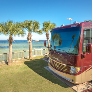 Destin West RV Resort Repeat Guest Discount.