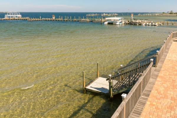 Access to the bay for fishing, kayaking, and more.