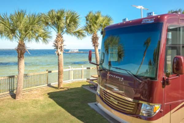 Destin West RV Resort Repeat Guest Discount.
