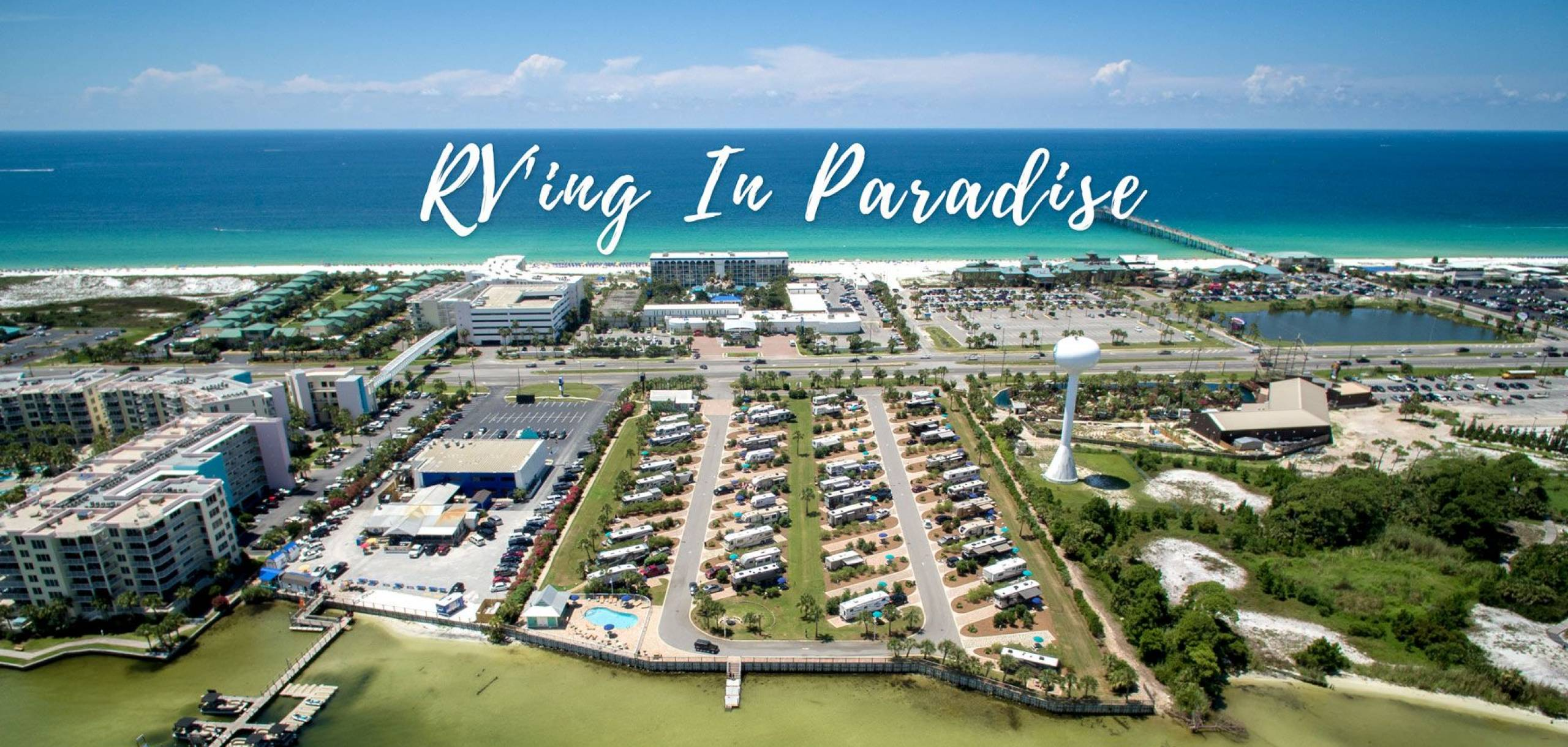 RV Resort Campground near the Gulf of Mexico Destin and Fort Walton Beach